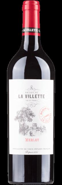 La Villette Merlot VdF