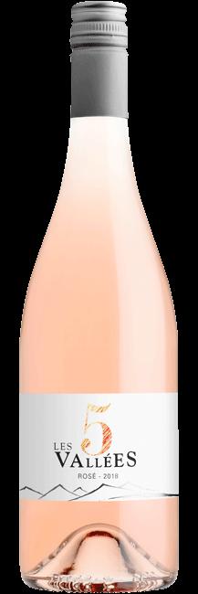 Les 5 Vallees Rosé VdF
